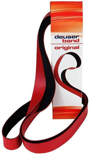 Deuserband Original, rot/schwarz (Expander Fitness Gymnastik)