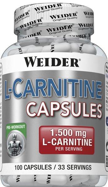 Weider BodyShaper L-Carnitine 100 Kapseln