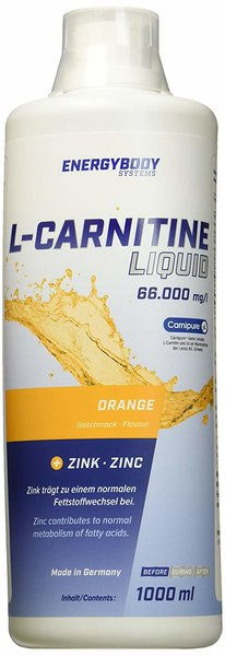 Energybody L-Carnitin Liquid 1000ml. Flasche