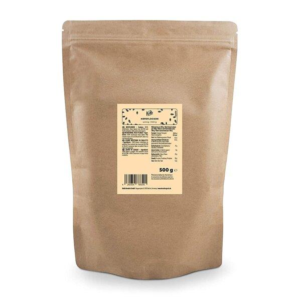 KoRo Hefeflocken 500 g | Vegan aus Melasse und Gewürz mit Käse Geschmack
