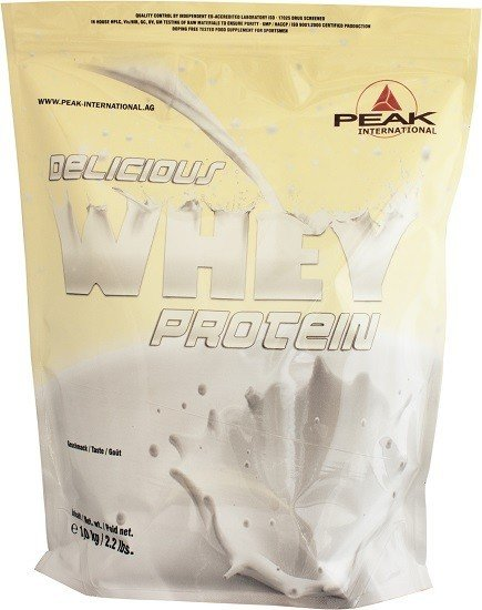 Peak Delicious Muscle Whey Protein 1000g Beutel