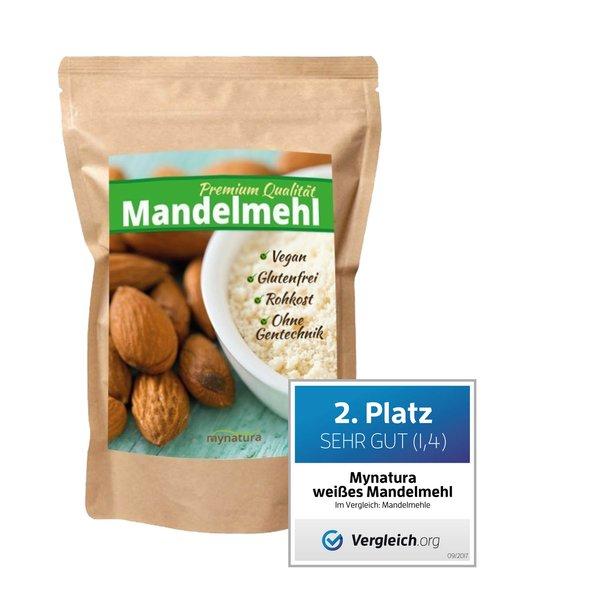 Mynatura 100% weißes Mandelmehl (1000g Beutel)