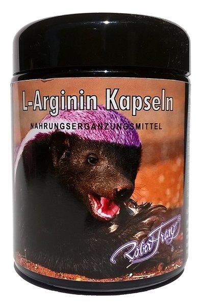 Robert Franz L-Arginin 180 Kapseln mit L-Lysin