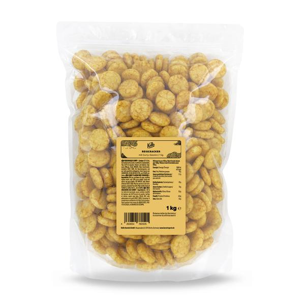KoRo Reiscracker Curry | 1 kg