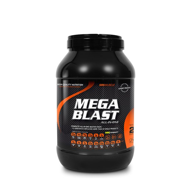 SRS Muscle Mega Blast All-in-one Produkt Red Berry 1900g Dose