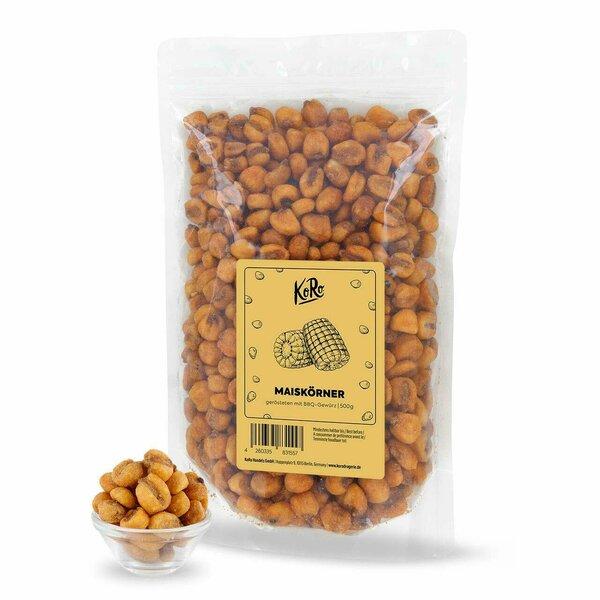 KoRo Geröstete Maiskörner mit BBQ-Gewürz | 500 g