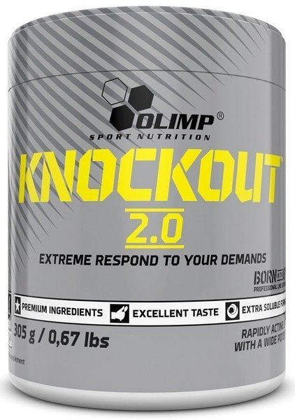Olimp Knockout 2.0 305g Dose Booster Koffein Pre Workout Coffein