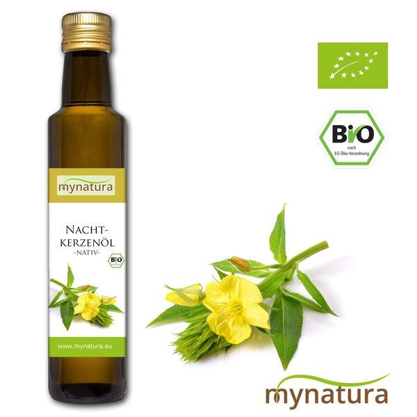 Mynatura Bio Nachtkerzenöl kaltgepresst 250ml