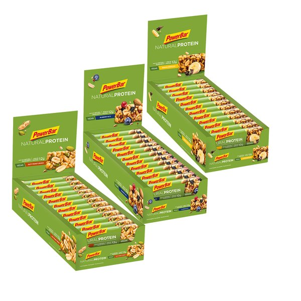Powerbar Natural Protein Bar 30% VEGAN Riegel (24x40g)
