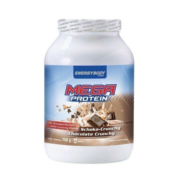 Energybody Mega Protein Schoko-Crunchy mit Knusperflocken! (750g Dose)