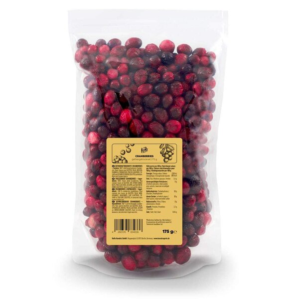 KoRo Gefriergetrocknete Cranberries 175 g