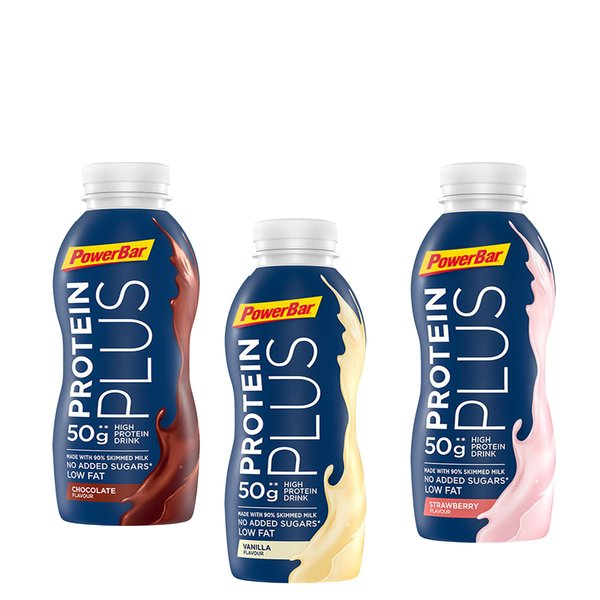 PowerBar Protein Plus Sports Milk (12 x 500ml)