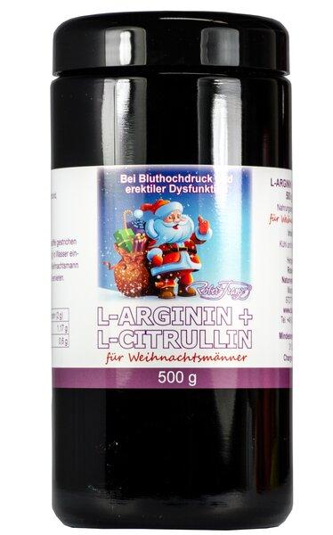 Robert Franz - L-Arginin / L-Citrullin Pulver (500g)