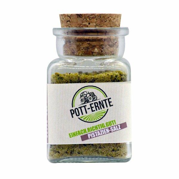 Pott-Ernte Pistaziensalz 100g Glas