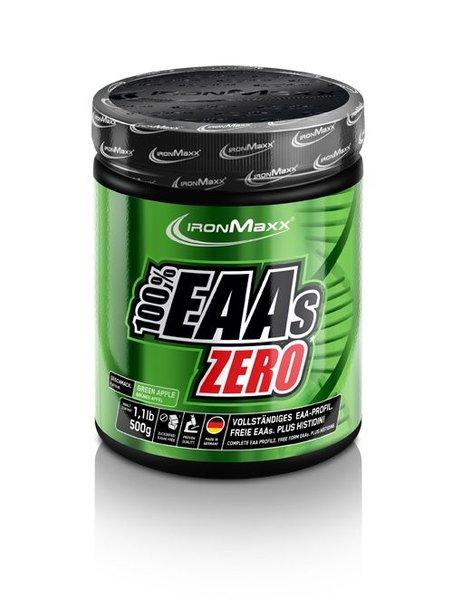 IronMaxx 100% EAAs Zero, 500 g Dose