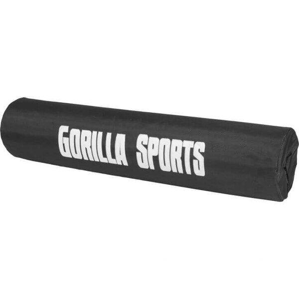 Gorilla Sports Nackenrolle Nackenstütze für Hantelstange