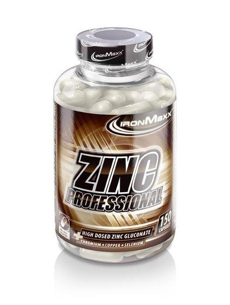 Ironmaxx Zinc Professional (150 Kapseln Dose)