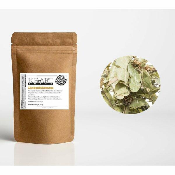 Kraft-Ernte Lindenblüten-Tee aus Bulgarien 50g
