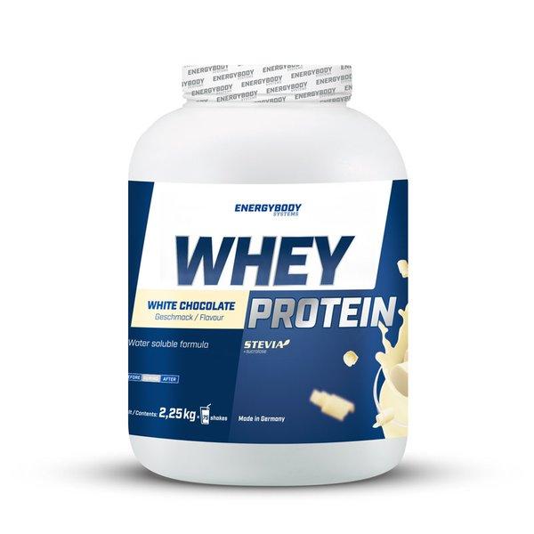 Energybody Fruit Whey Protein NEU Stevia 2,55kg Dose