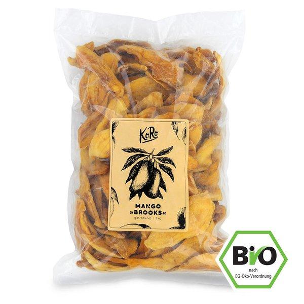 Koro Bio Mango Brooks aus Burkina Faso Extrem saftig 1 kg