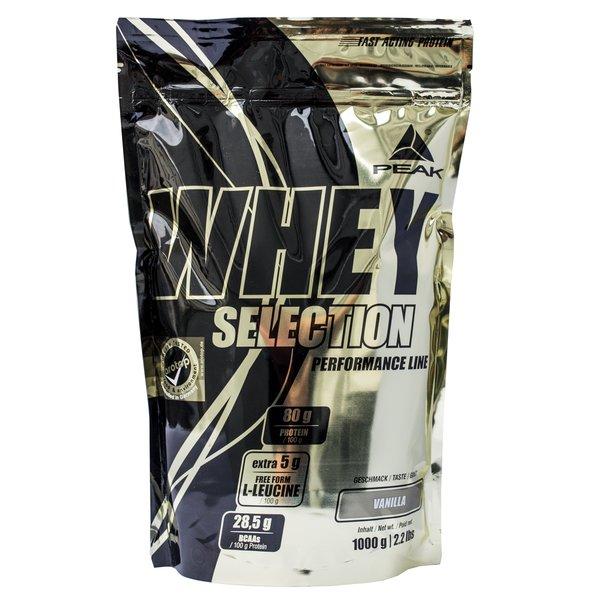 Peak Whey Selection 1Kg (Nachfolger Whey Fusion!)