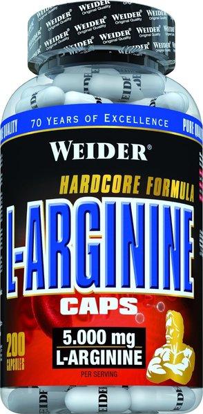 Weider L-Arginine Caps 200 Kapseln