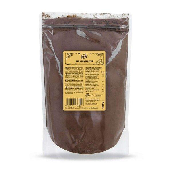 KoRo Bio Kakaopulver Stark Entölt 1 kg