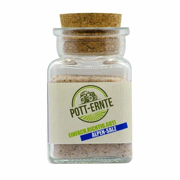 Pott-Ernte Alpensalz 150g Glas