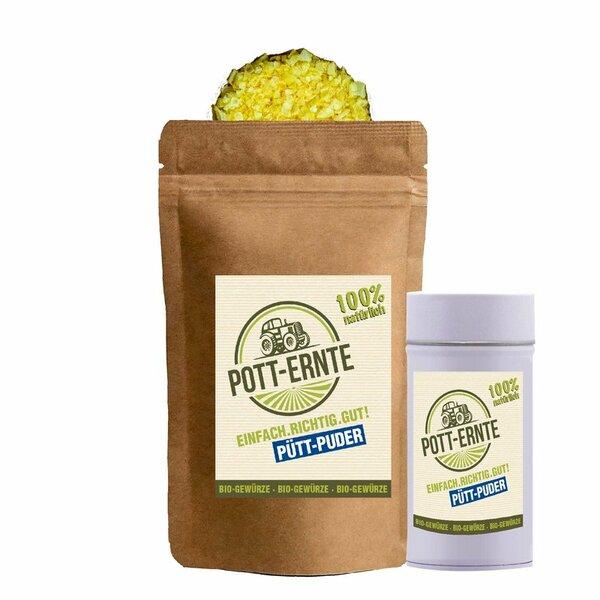 Pott-Ernte Bio Pütt-Puder 100g mit DOSE