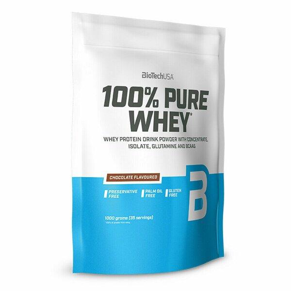 BioTech USA 100% Pure Whey 1000 g Beutel
