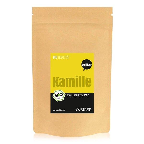 Wohltuer Bio Kamillenblüten ganz Tee aus Kroatien Kamillentee 250g