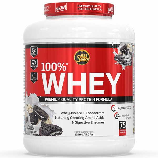 All Stars 100%* Whey Protein 2270g Dose