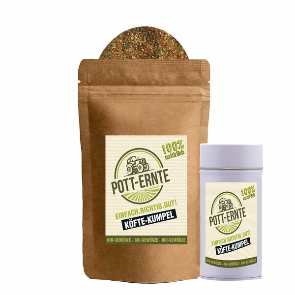 Pott-Ernte Bio Köfte-Kumpel 100g mit DOSE
