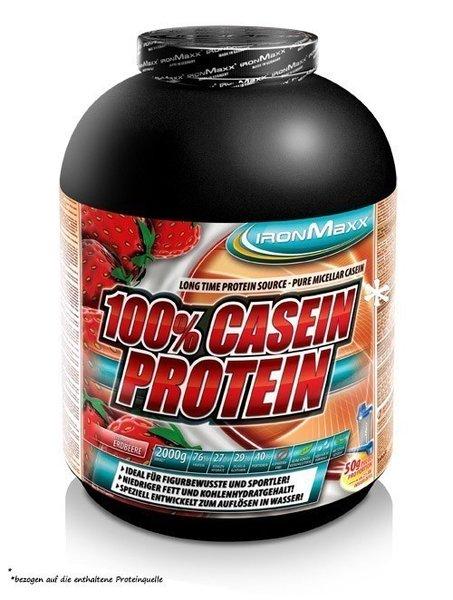 Ironmaxx 100% Casein Protein*, 2kg Dose!