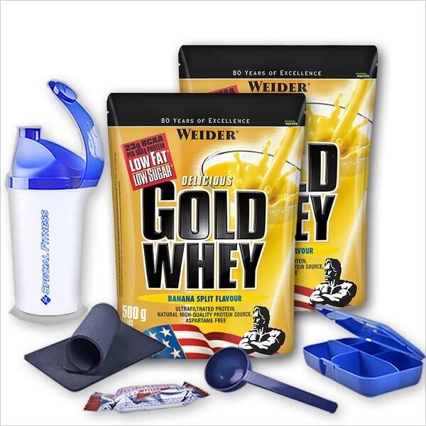 Weider Delicious Gold Whey Protein   2 x 500g Beutel