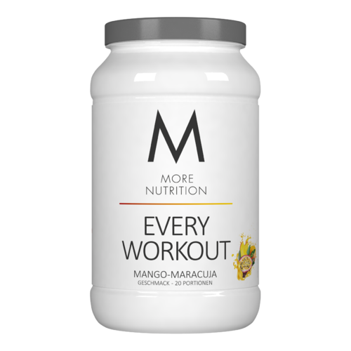 More Nutrition EVERY WORKOUT 700G PULVER