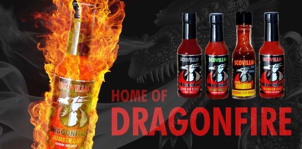 Scovillas Dragonfire Sauce 148ml