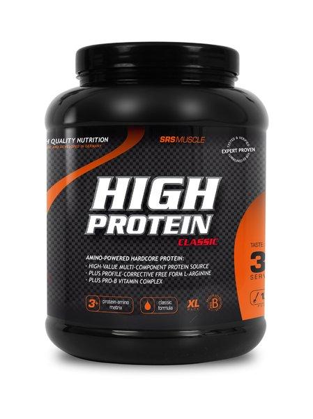 SRS High Protein Eiweiss Qualität Sport Fitness 1000g Dose