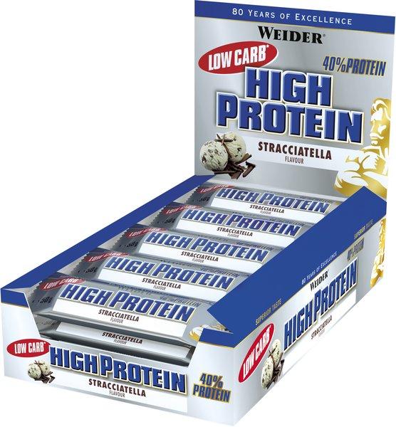 Weider 40% HIGH Protein Bar (25* 50g kleine Riegel Box)