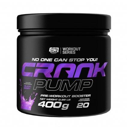 ESN Crank Pump 400g Pre Workout Booster