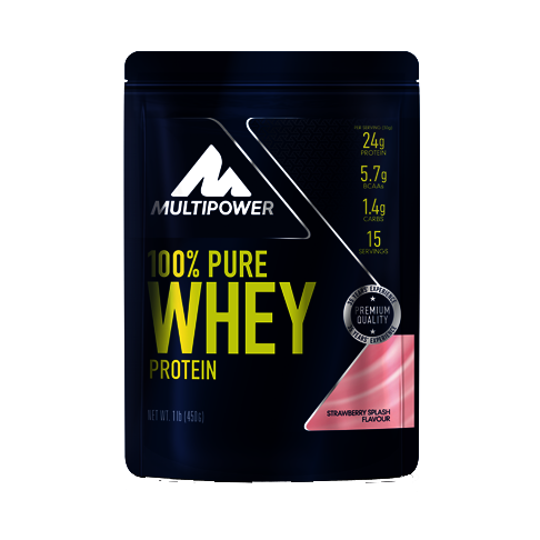 Multipower 100%* Pure Whey Protein (450g Beutel)