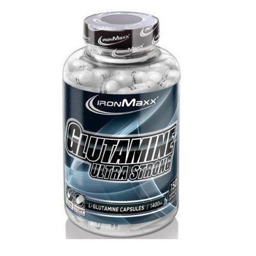 IronMaxx Glutamine Ultra Strong, 150 Tricaps