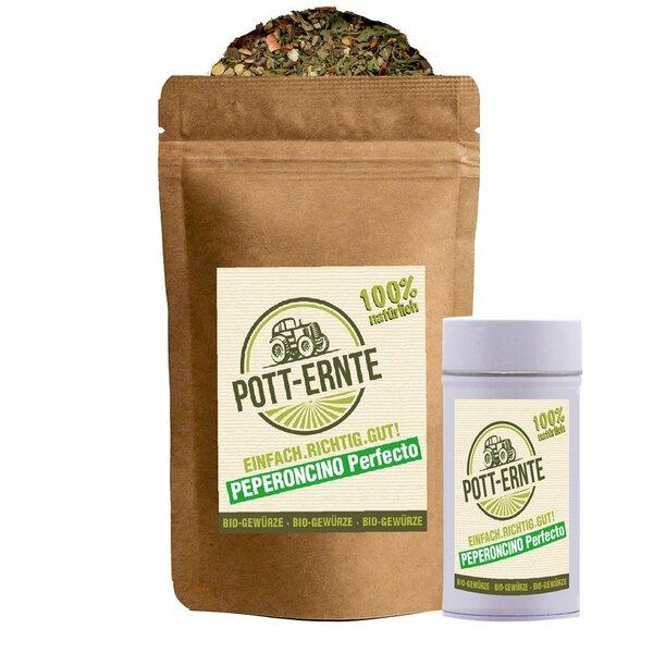 Pott-Ernte Bio Peperoncino Perfecto 100g mit DOSE