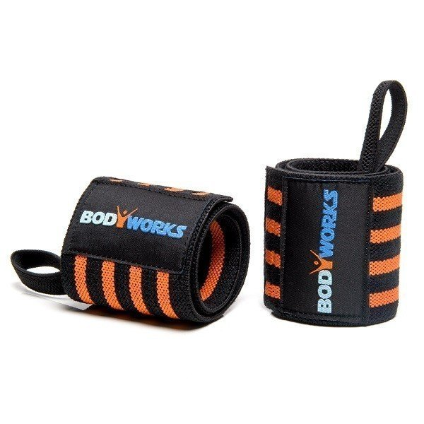 BODYWORKS Handgelenkbandagen Bodybuilding - Power Wrist Wraps