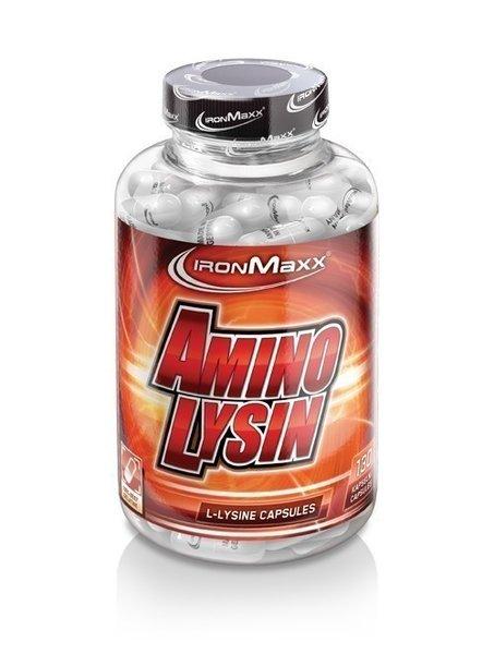 Ironmaxx Amino Lysin 130 Kapseln Dose