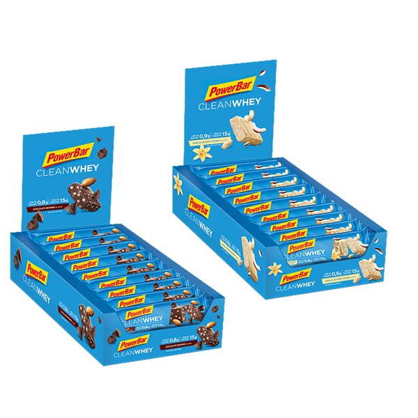 Powerbar Clean Whey Riegel 18x45g BOX