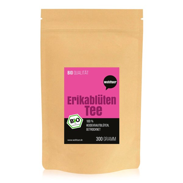 Wohltuer Bio Erikablüten Tea Tee gerebelt 300g