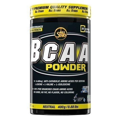 All Stars BCAA Powder 400g Dose