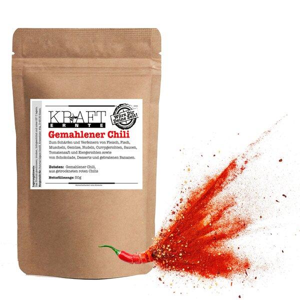 Kraft-Ernte Chili gemahlen 600g
