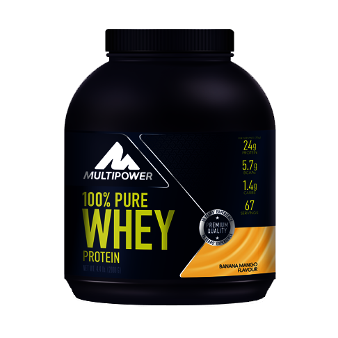 Multipower 100%* Pure Whey Protein (2000g Dose)